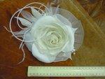 Шляпка-цветок ЭННИ, без вуали