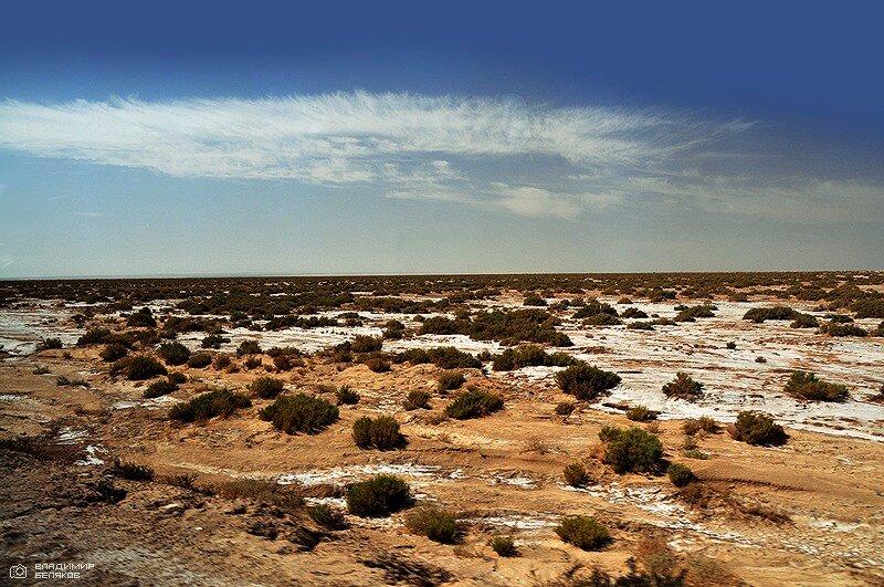 Соляные участки Сахары