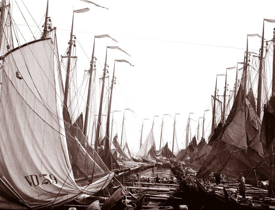 Старая Голландия. Рыбацкие лодки