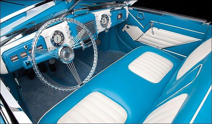 Diana Dors Sports Car