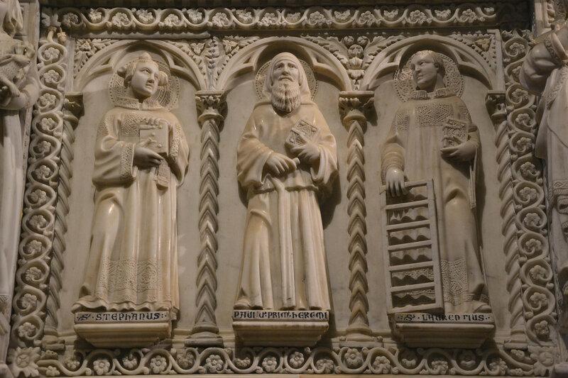 019-Стефан, Павел пустынник и Лаврентий.JPG