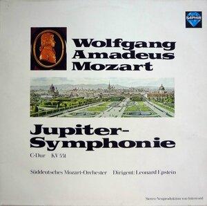 Mozart – Jupiter-Symphonie C-Dur KV 551 (1973) [Saphir, 120.814]