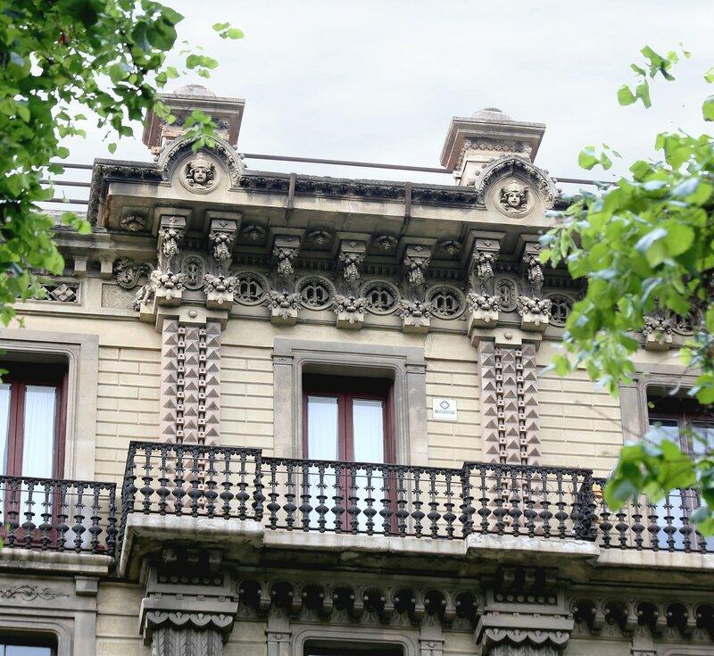 Barcelona. Casa Jaime Moysi