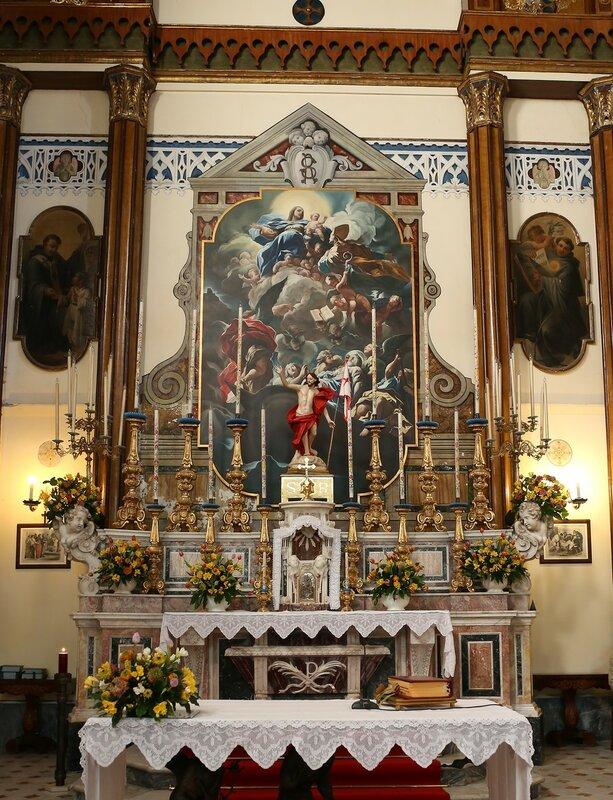 Искья, Лакко Амено. Серковь Святой Реституты (Chiesa di Santa Restituta)
