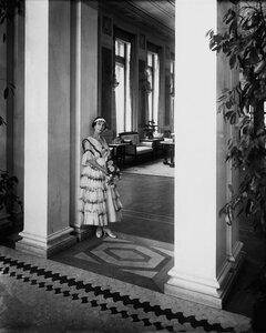 М. Ф. Кшесинская в своём особняке