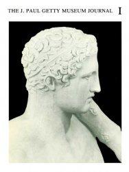 Книга The J. Paul Getty Museum Journal: Volume 1