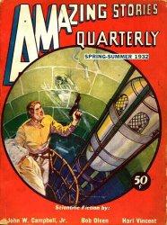 Журнал Amazing Stories Quarterly (Spring, 1932)