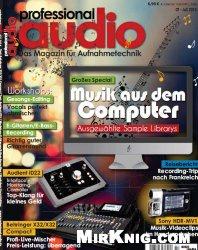 Professional Audio Magazin fuer Aufnahmetechnik - Juli 2014