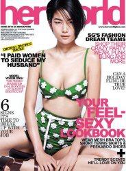 Журнал Her World Singapore - June 2014