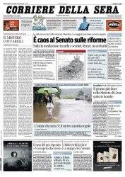 Журнал Il Corriere della Sera (30 Luglio 2014)
