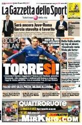 Журнал La Gazzetta dello Sport  (30 Agosto 2014)