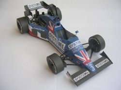 Журнал TYRRELL 012-4 - S Johansson - GP Zandvoort, 1984 [Spinler]