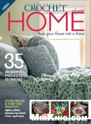 Журнал Interweave Crochet Home 2015