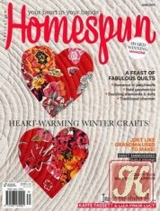 Журнал Книга Australian Homespun: Issue 133 Vol.15.6 - June 2014