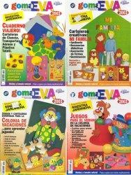 Журнал GOMA E.V.A – Maestra Jardinera No.5, 8, 11, 12