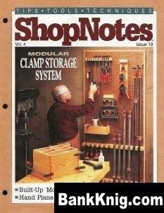 Журнал ShopNotes №19 (1995) pdf 22,13Мб