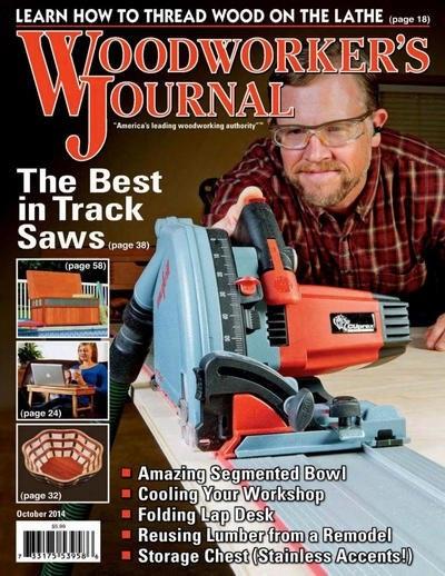 Книга Журнал: Woodworker's Journal №5 (октябрь 2014)[En]
