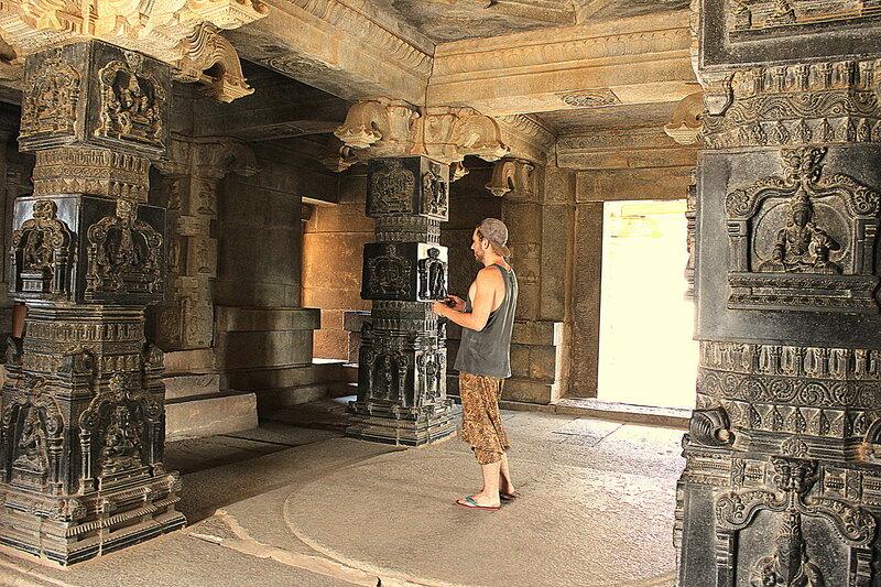 Индия, Хампи - Дворец Мадхавана