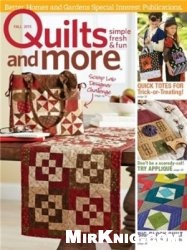 Журнал Quilts and More - Fall 2015