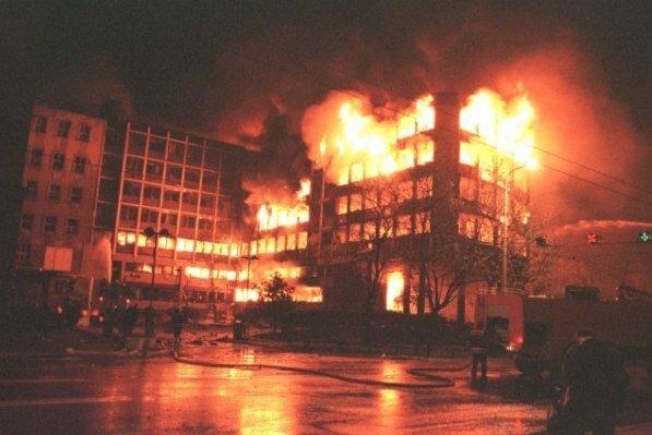 Сербия, НАТО, бомбардировки, Белград
