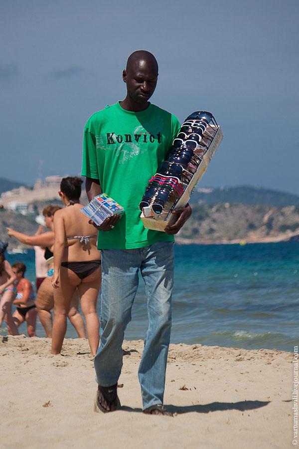 Испания, Ибица, пляжи