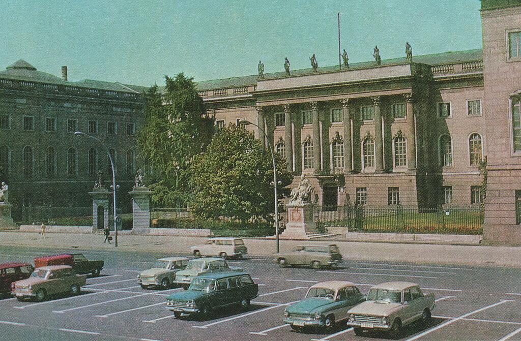 Берлин. Университет им. Гумбольдта. 1974, фото Трахмана..jpg