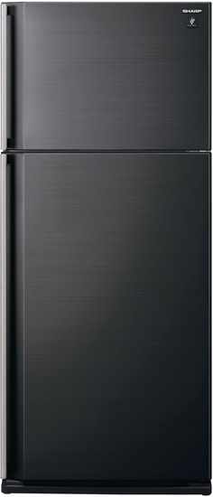 холодильники с верхней морозилкой, цвета графит, бежевый