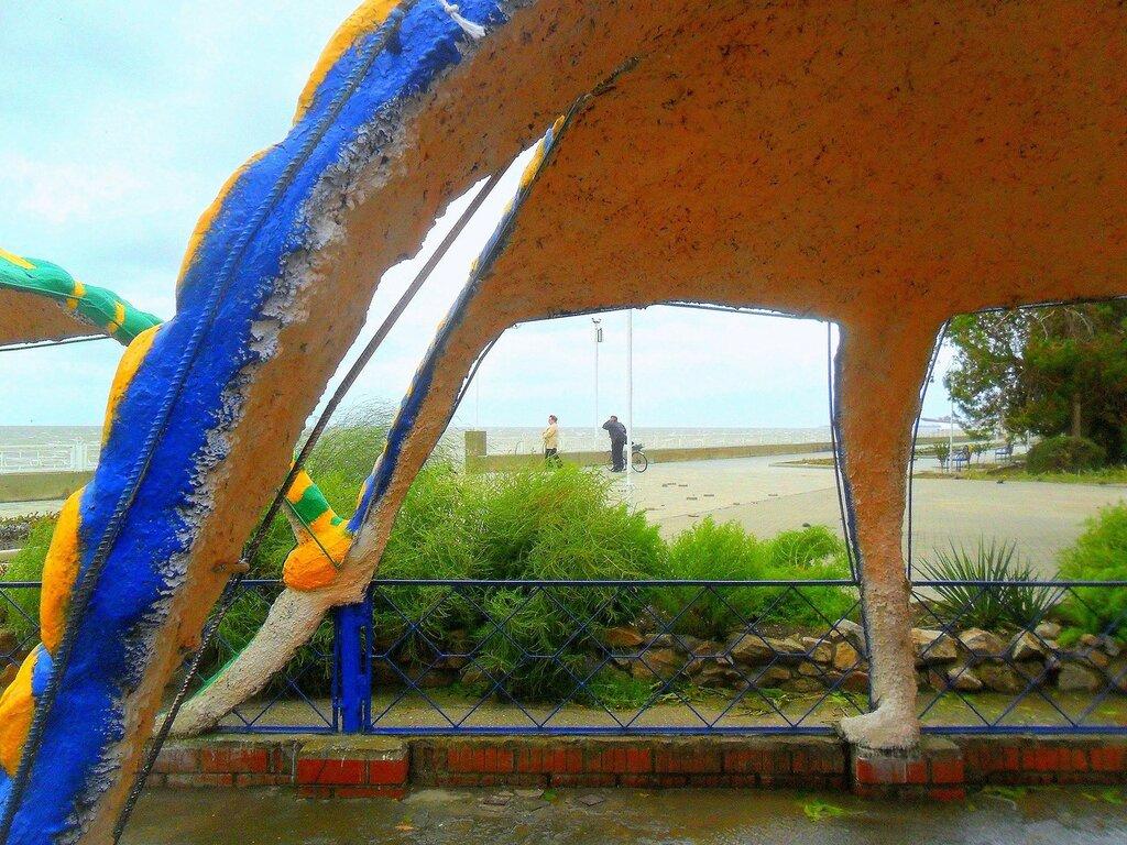 Набережная, сентябрь, Азовское побережье, осенние картинки