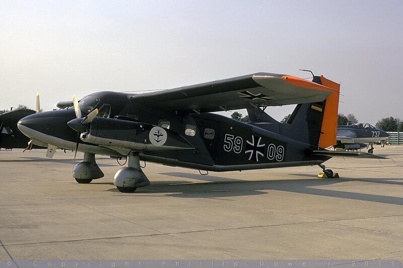 5909 - Do.28D-2 Skyservant - West German Navy / MFG5  - RNAS Yeovilton - 8-September-73