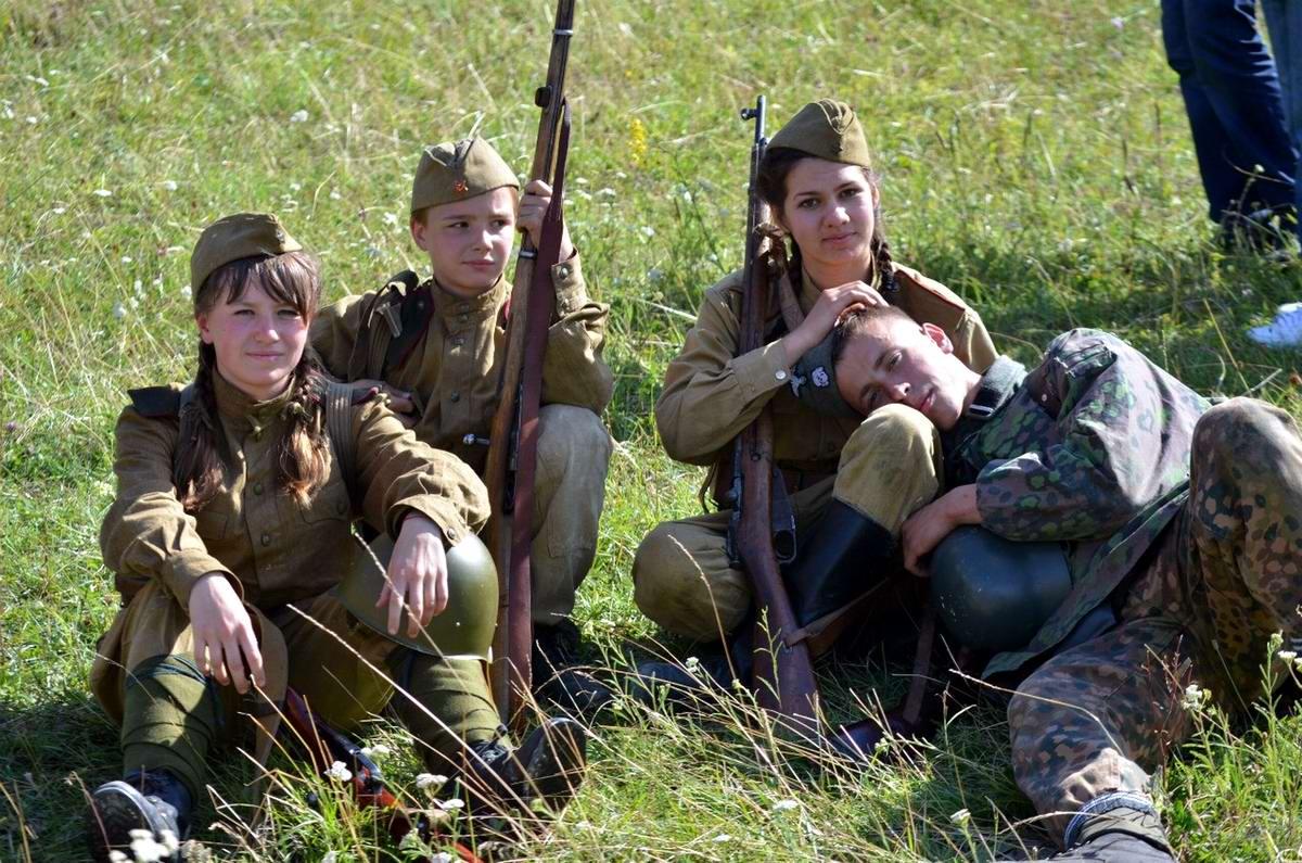 Забавные моменты из жизни военных реконструкторов (82)