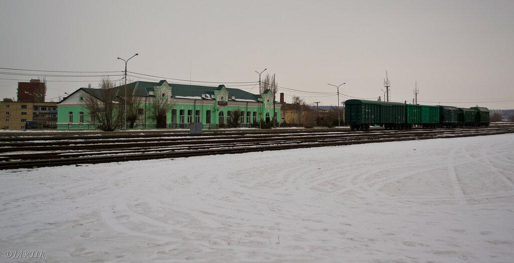 вокзал станции Камышин