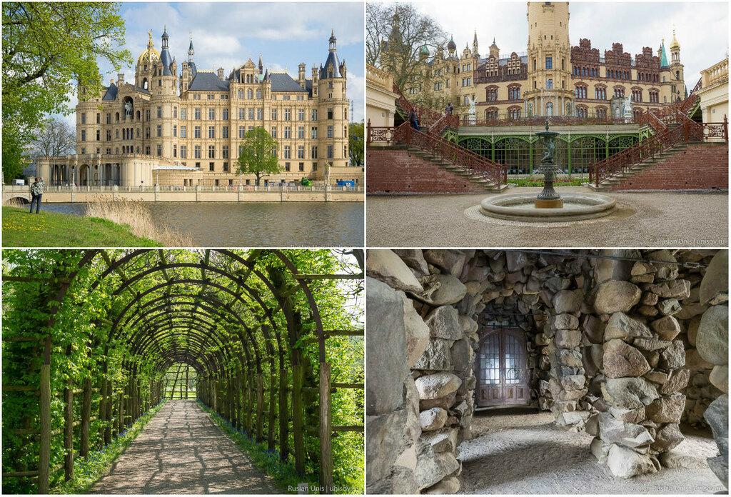 Замок Шверин в Германии