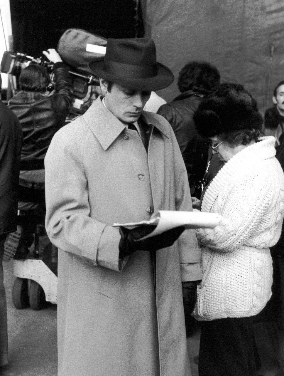1967. На съемках «Самурая»