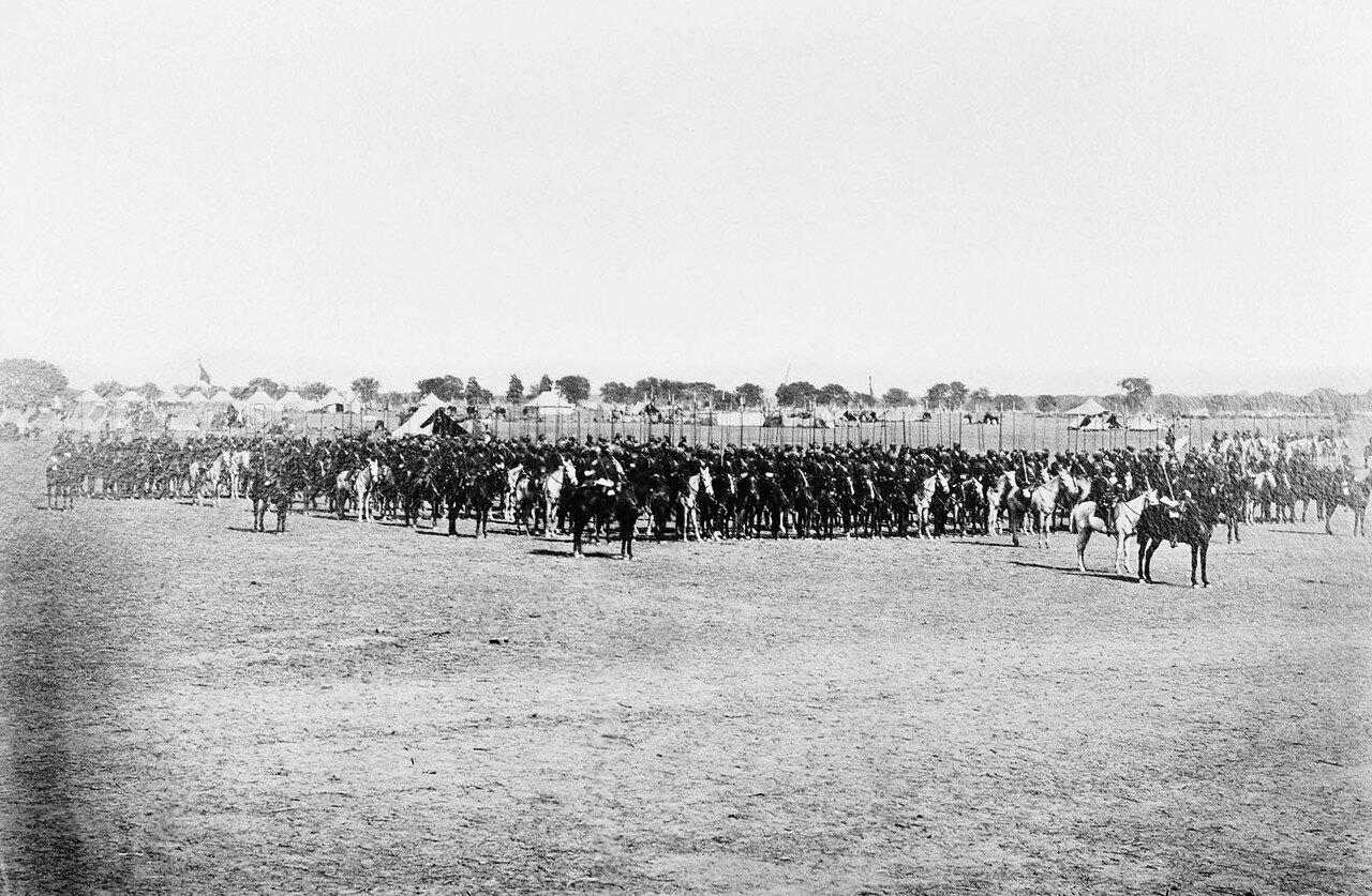 170. 11 полк Бенгальской кавалерии, Дели