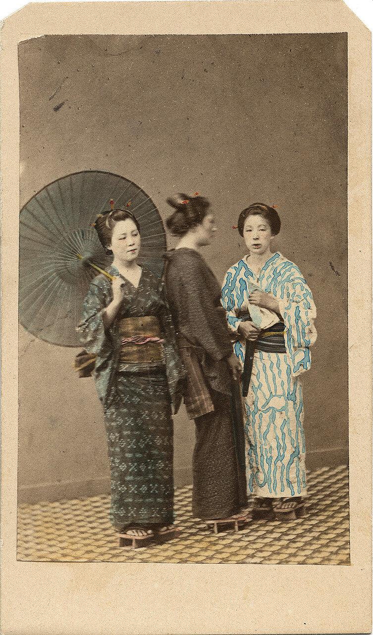 Семья торговцев. 1860-е