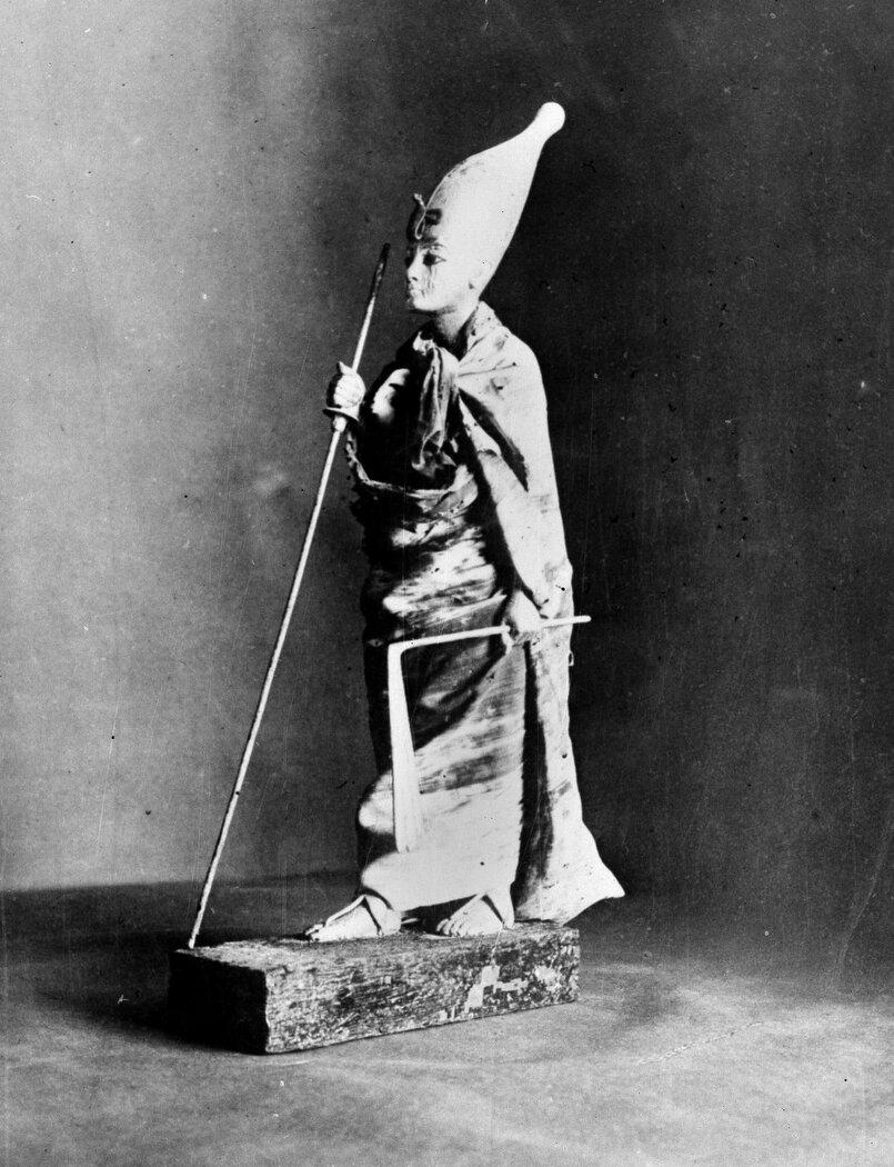 Статуя Тутанхамона. 1927