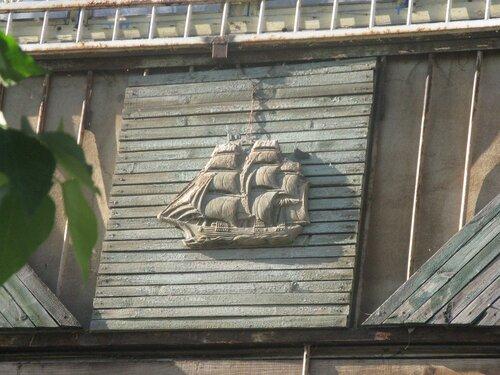 парусник на балконе