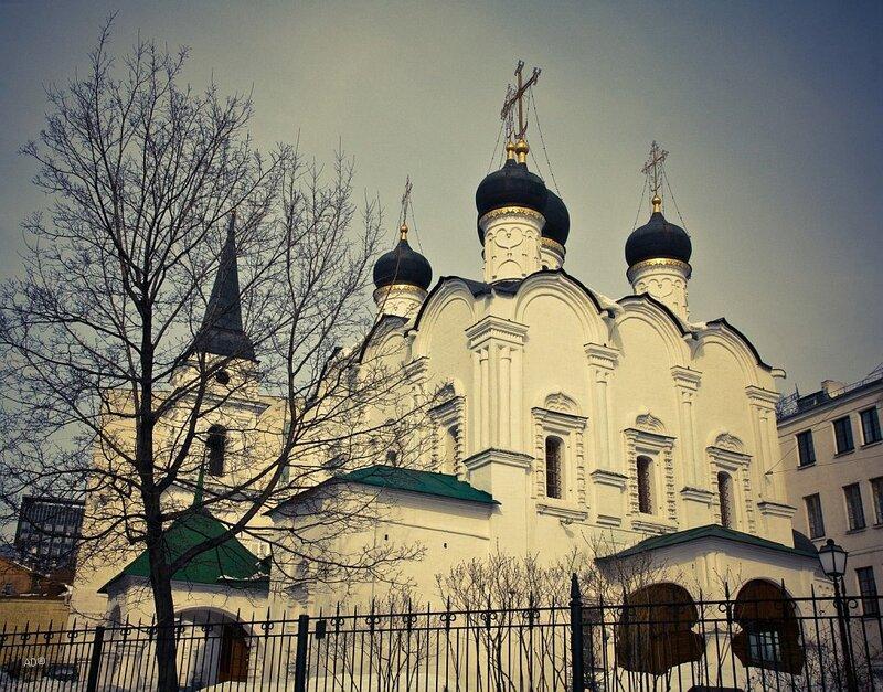 Храм Владимира равноапостольного, что в Старых Садах