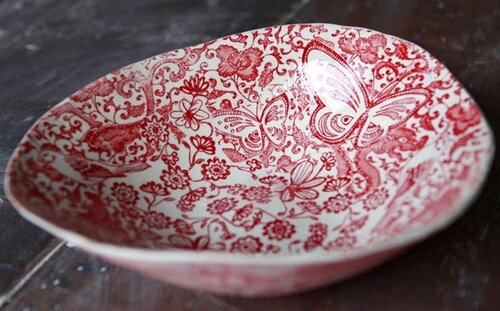 посуда с авторской росписью