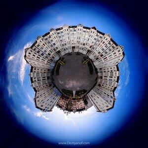 Двор город, Чебоксары, coordinates, микропланета, панорама, HDR,маленькие миры