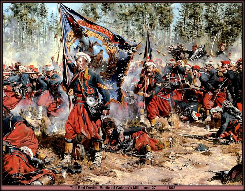 Don troiani гражданская война в сша