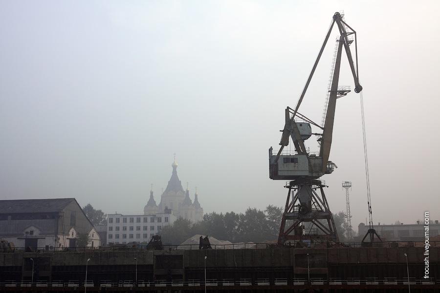 Нижний Новгород в смоге