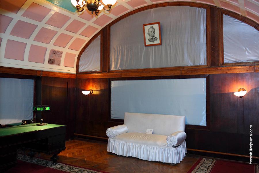 Комната отдыха для Верховного главнокомандующего.