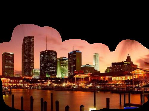 ночной город9