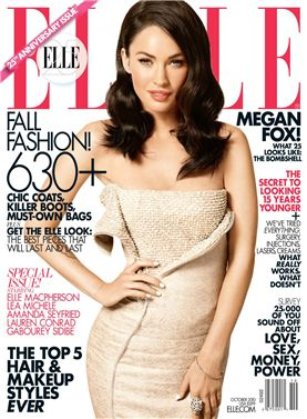 Меган Фокс / Megan Fox by Carter Smith on ELLE cover