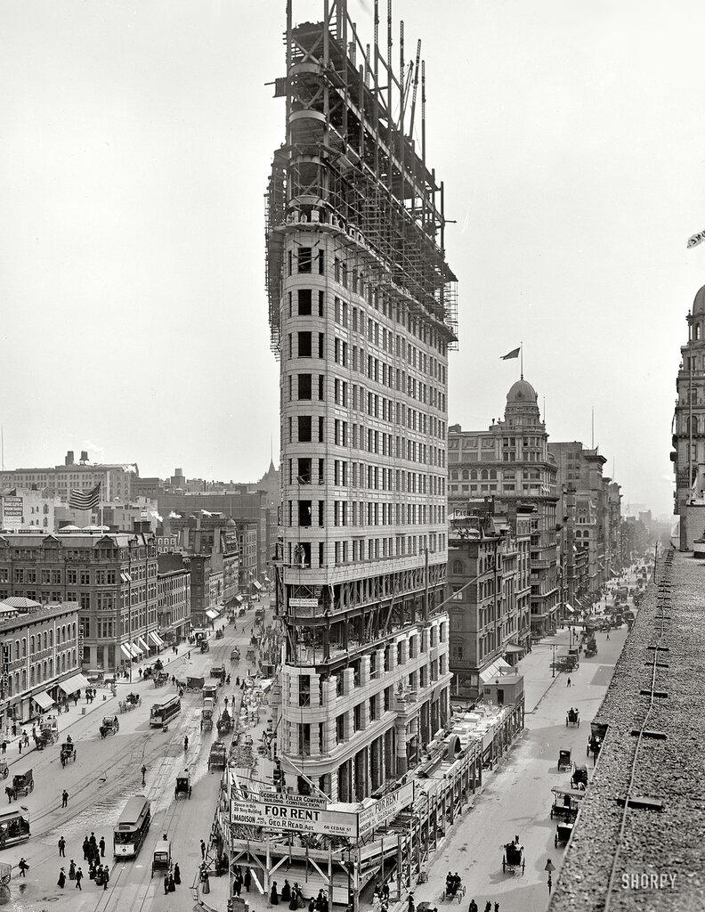 """Flatiron Building, Нью-Йорк""."