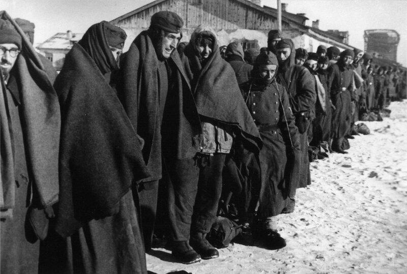 «Красная звезда», 28 января 1943 года, Сталинградская битва, сталинградская наука, битва за Сталинград, пленные немецкие солдаты
