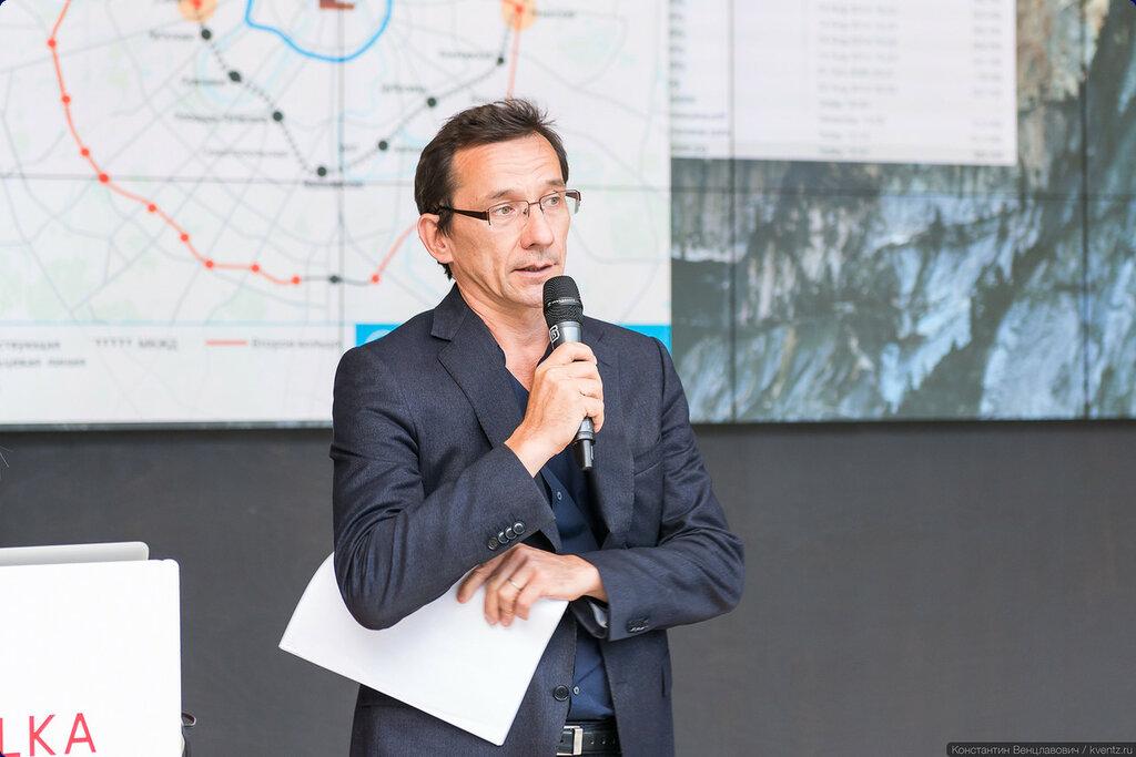 Тимур Башкаев, главный архитектор Московской кольцевой железной дороги (МКЖД)