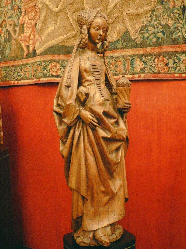 Париж. Музей средневековья Клюни