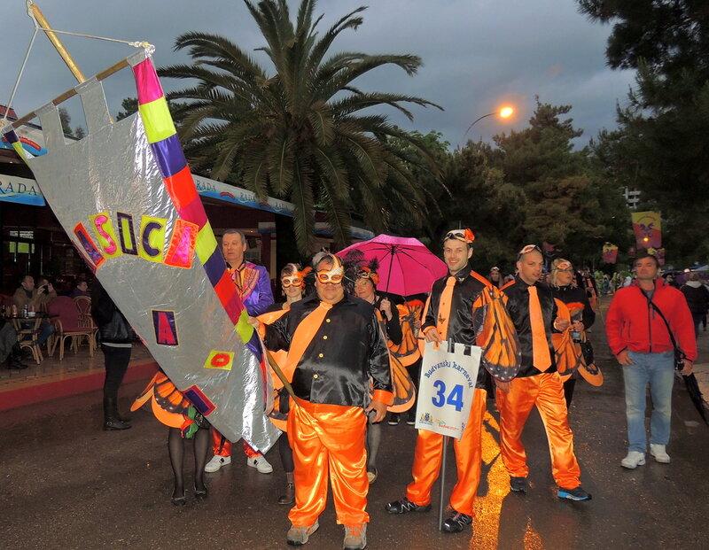 Будванский карнавал 2014